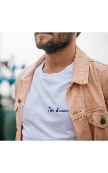 T-shirt homme brodé Petit...