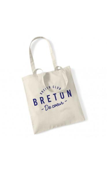 Totebag Breton de coeur
