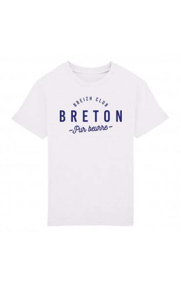 T-shirt enfant Breton pur...