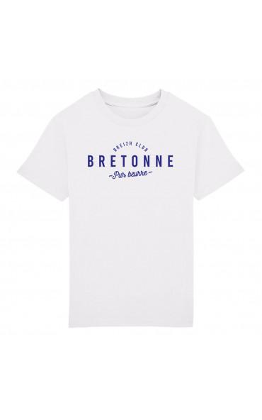 T-shirt enfant Bretonne pur...