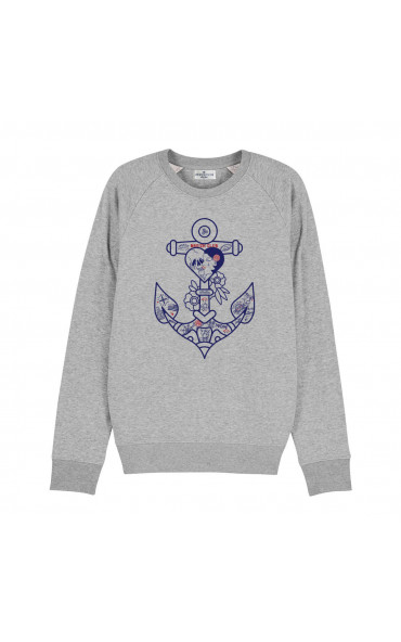 Sweat homme Ancre tattoo