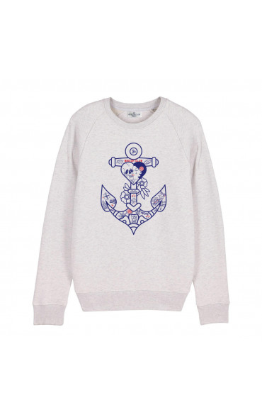 Sweat femme Ancre tattoo