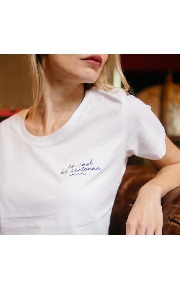 T-shirt femme brodé Be...