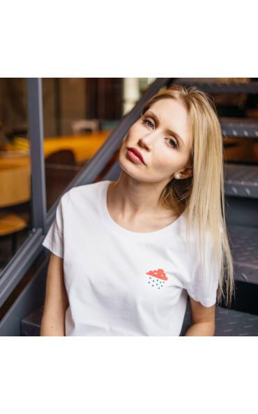 T-shirt femme Le nuage et...