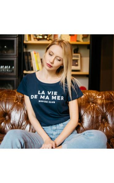 T-shirt femme La vie de ma mer
