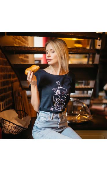T-shirt femme Rêveuse bretonne