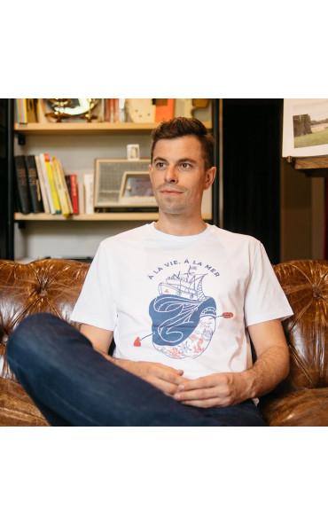 T-shirt homme À la vie, à...