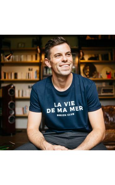 T-shirt homme La vie de ma mer