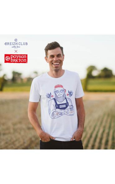 T-shirt homme Paysan Breton