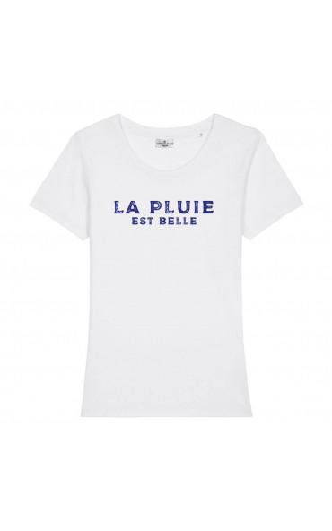 T-shirt femme La pluie est...