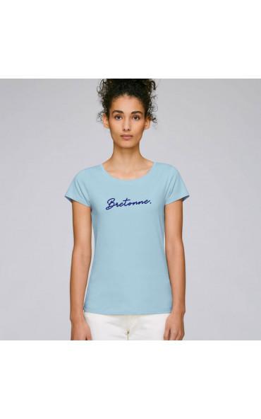 T-shirt femme Bretonne -...
