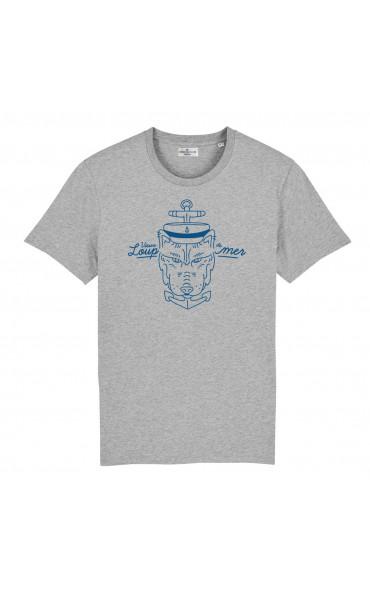 T-shirt homme Vieux loup de...