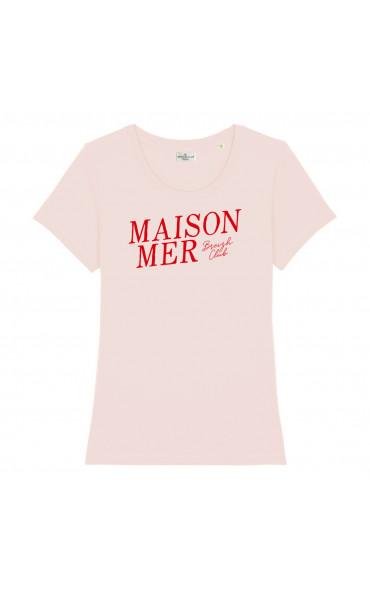 T-shirt femme Maison Mer