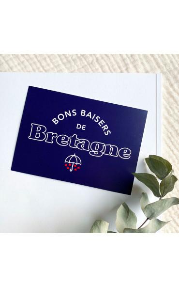 Carte postale Bons baisers...