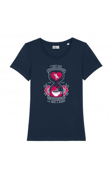 T-shirt femme C'est pas la...