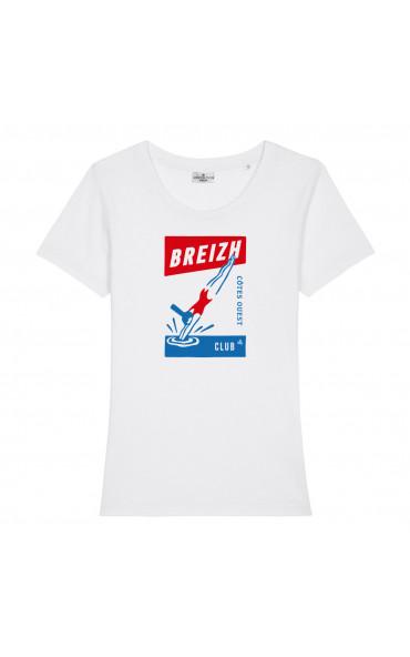 T-shirt femme Plongeuse