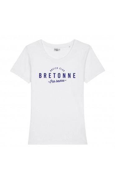 T-shirt femme Bretonne pur...