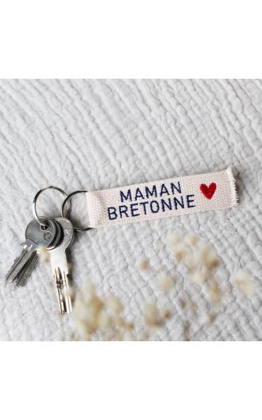 Porte-clés Maman Bretonne