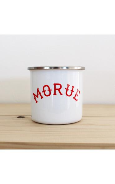 Mug émaillé breton - Morue