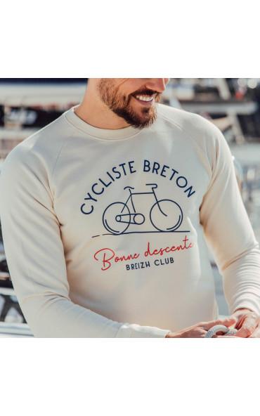 Sweat homme Cycliste breton