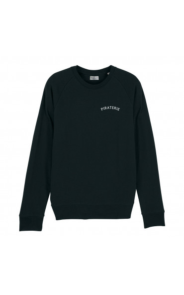 Sweat homme brodé Piraterie