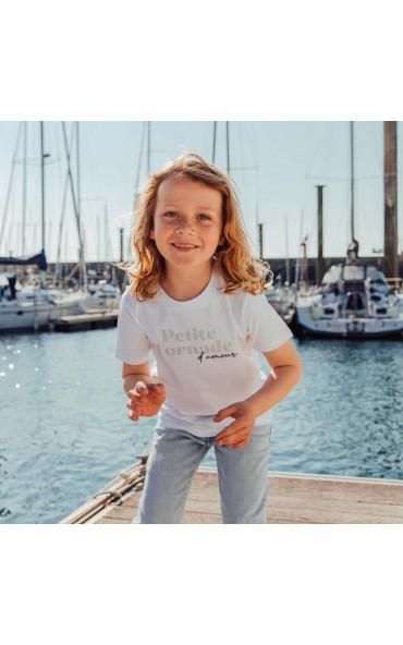 T-shirt enfant Petite tornade