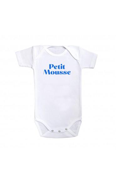 Body bébé Petit mousse