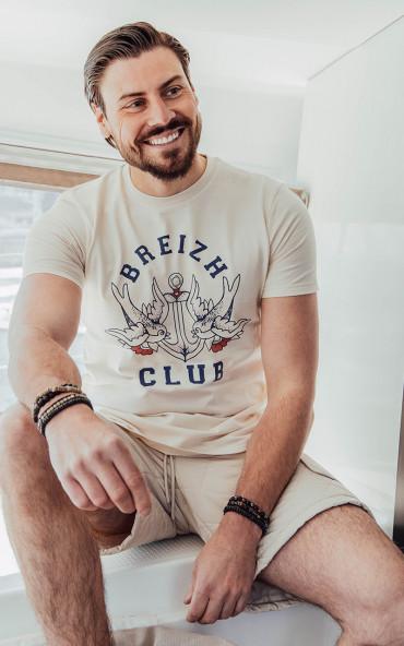 T-shirt homme Ancre vintage