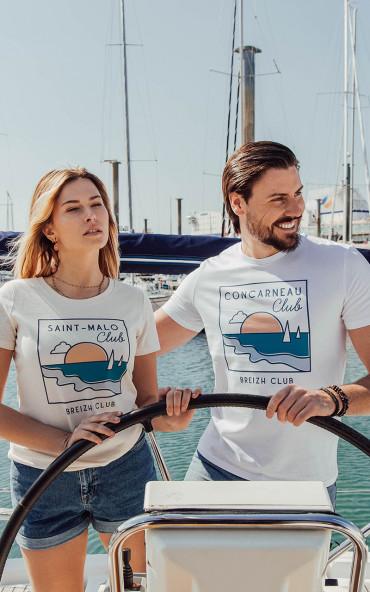 T-shirt homme Horizon -...