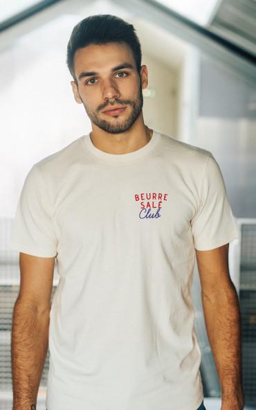 T-shirt homme brodé Beurre...
