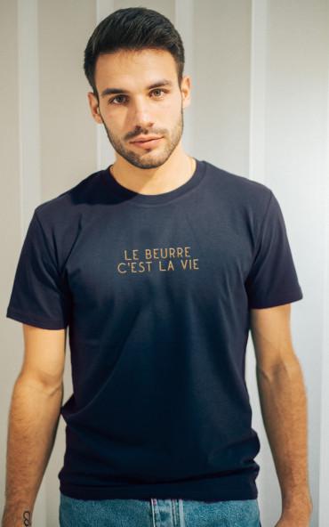 T-shirt homme brodé Le...