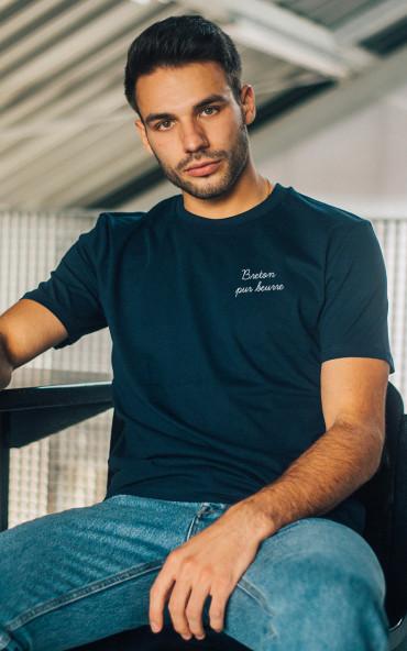 T-shirt homme brodé Breton...