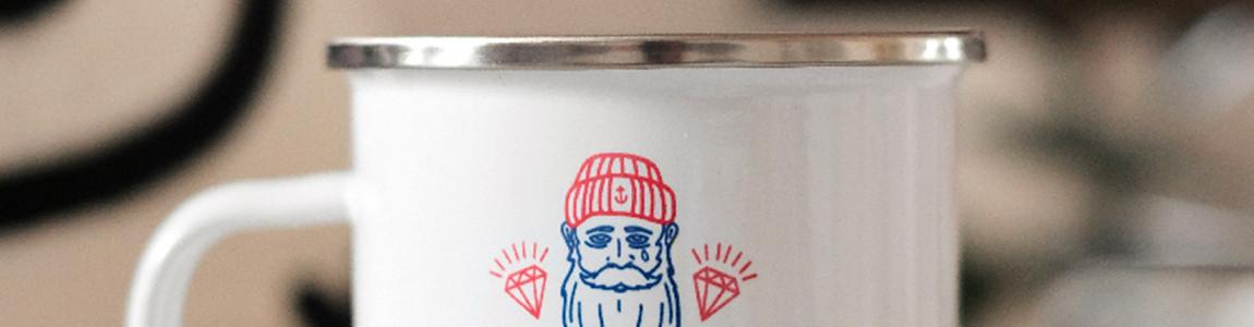 Mug émaillé breton