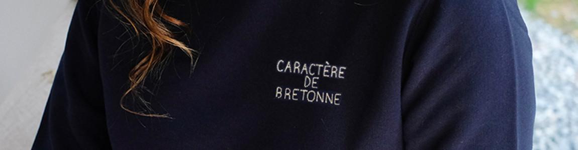 Sweat breton brodé pour femme - Breizh Club